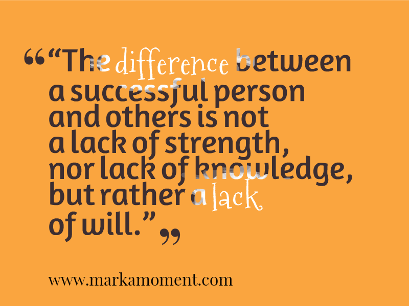 Thought of the day - 21 September 2013