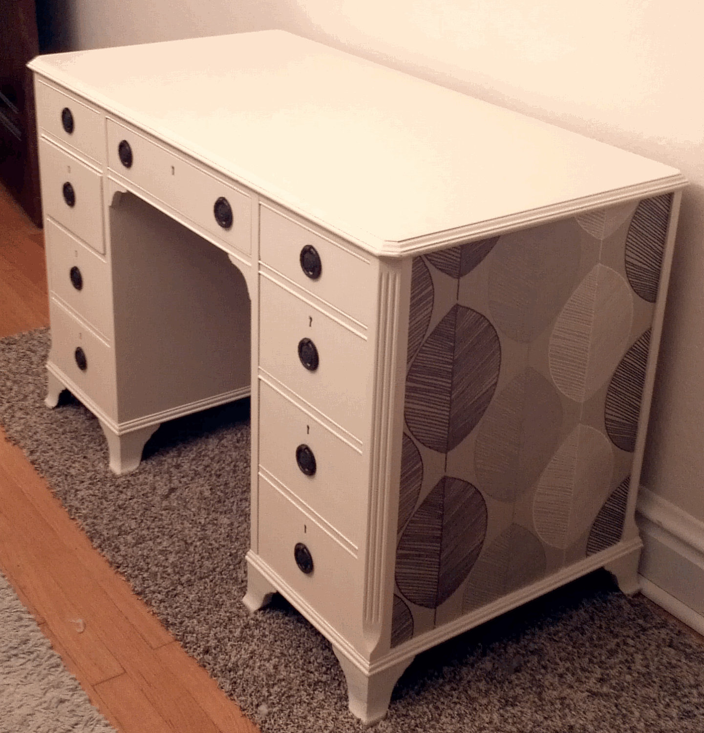 Upcycled Desks. Full resolution  photograph, nominally Width 1441 Height 1500 pixels, photograph with #B66915.