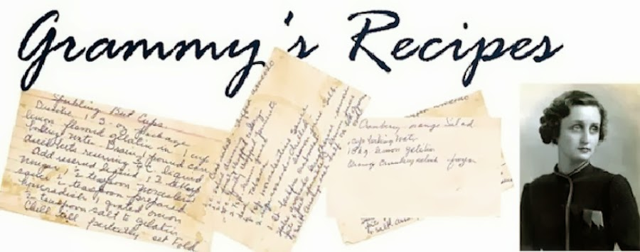 Grammy's Recipes