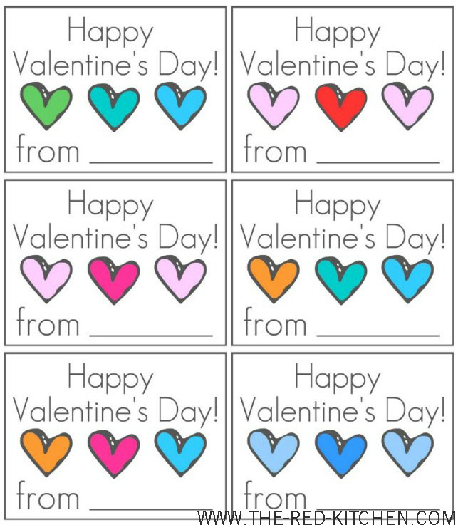 the red kitchen: 3 for free! -- fun valentine's day printables, Ideas