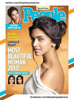 People Magazine's Most Beautiful woman of 2013-Deepika Padukone
