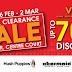 26 Feb 2014 (Wed) - 2 Mar 2014 (Sun) : Viva Home Stock Clearance