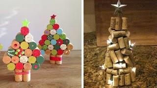 Idées pour Recycler des Bouchons, Sapins de Noël avec Bouchons Recyclés