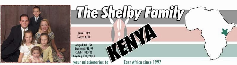 Shelbys in Kenya Letters and Updates