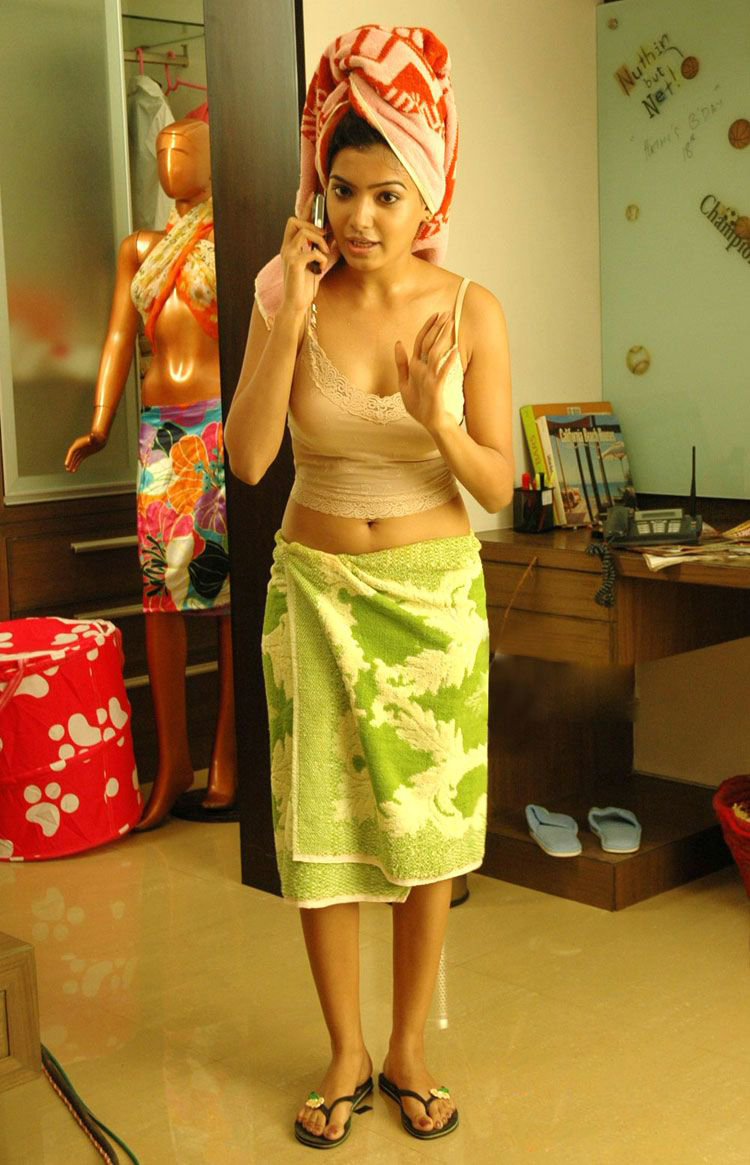 in Samantha towel hot