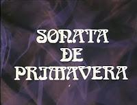 Sonata de Primavera 1983 Tve - Teatro clasico Estudio 1