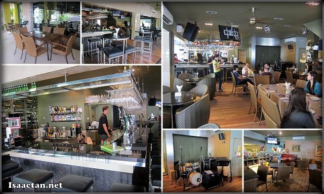 Comfortable ambiance at Star Cafe Taman Desa