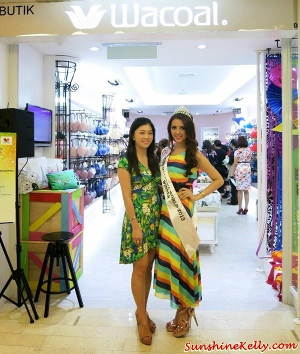 wacoal the store, Wacoal First Malaysia Boutique, fahrenheit88 KL, lingerie