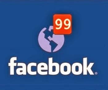 solicitações e notificações facebook