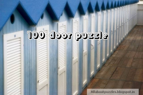 100 doors in a row microsoft puzzle brain teaser puzzles for 100 doors 2 door 11