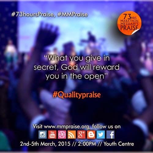 Quality Praise.....What God Deserves!