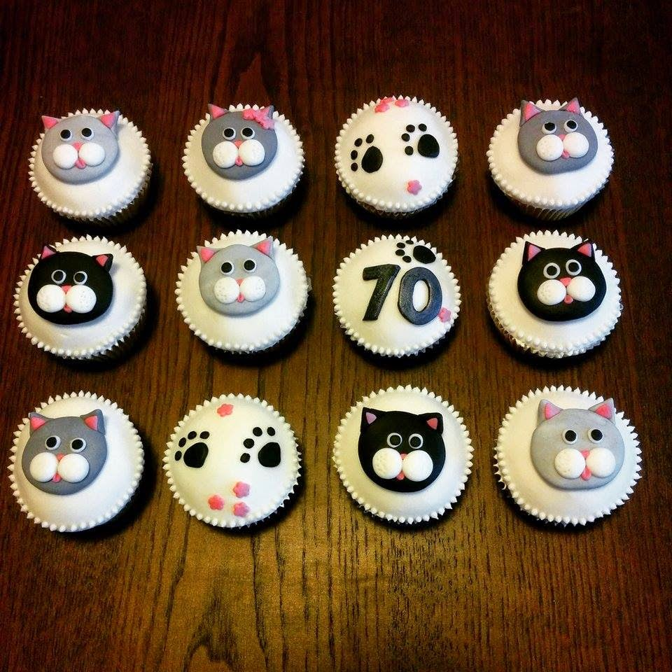 kocici cupcakes