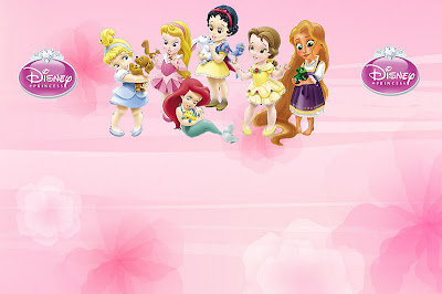 Disney Princess Babies: Free Printable Party Invitations or Cards. | Is it for PARTIES? Is it ...