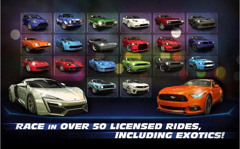 Fast & Furious Legacy hadir di Android dan iOS, pacu mobilmu seperti Bryan Connor