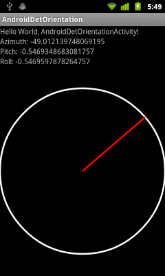 our Android Compass