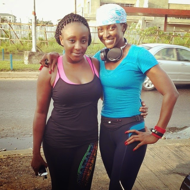 Fit for life: This is how Kate Henshaw & Ini Edo maintain their smashing figure (LOOK)