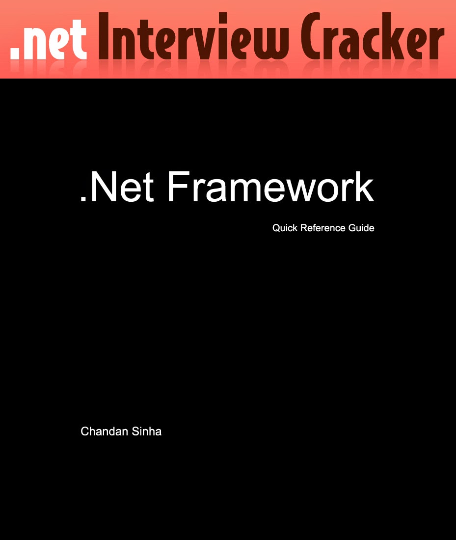 .Net Framework EBook for Technical Interviews