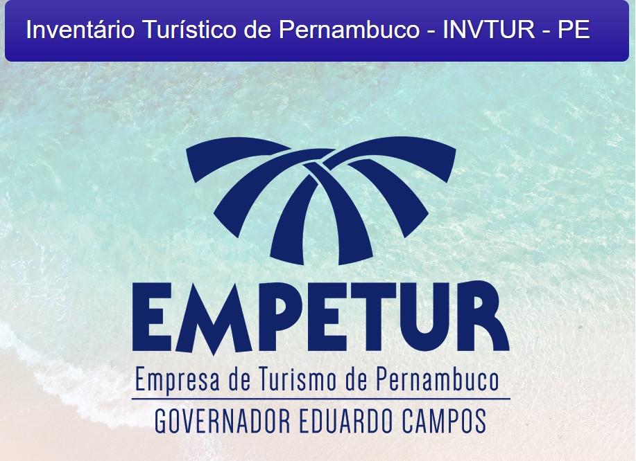 Inventário Turístico de Pernambuco - INVTUR -PE