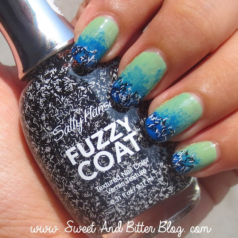 Eight Ways to Wear Sally Hansen Fuzzy Coat Tweedy 800 | Sweet and ...