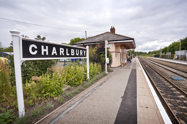 Historic railway station at Charlbury by Martyn Ferry Photography