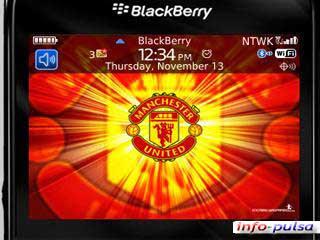 Tema Manchester United untuk BlackBerry Curve 9220 / BB Davis