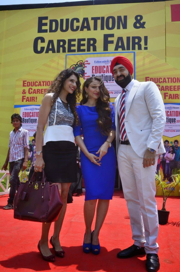 Soha Ali Khan At Education and career fair 2014