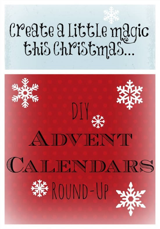 DIY advent calendars round up