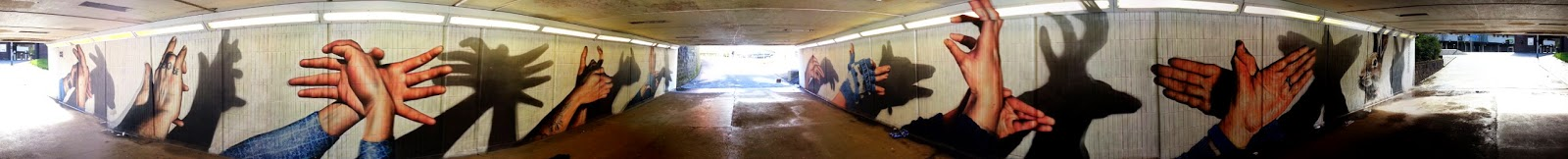 Cowcaddens Underpass, Rogue One, Artpistol, Glasgow