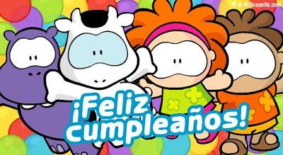 Feliz Cumpleaños Gusanito