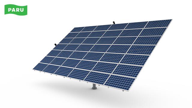 [PARU Solar Tracker] Dual Axis Tracker 06