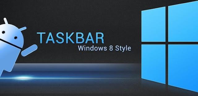 Taskbar (Premium) - Windows 8 style v3.0 Apk full download