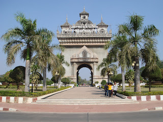 Vientiane - City of Sandalwood - Patuxai