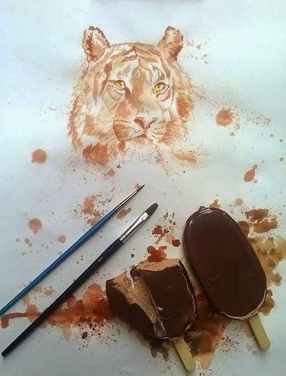 Pinturas de picolé – Bem Legaus