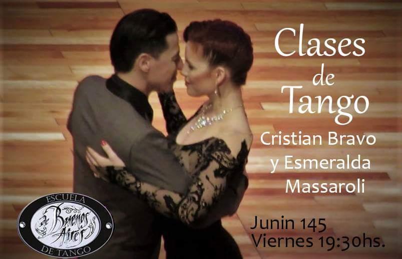 Aprendé a bailar tango con Esmeralda y Cristian!