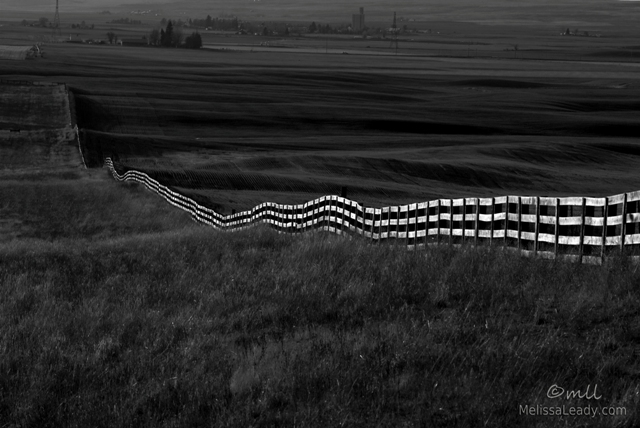 Klickitat County Fence Line