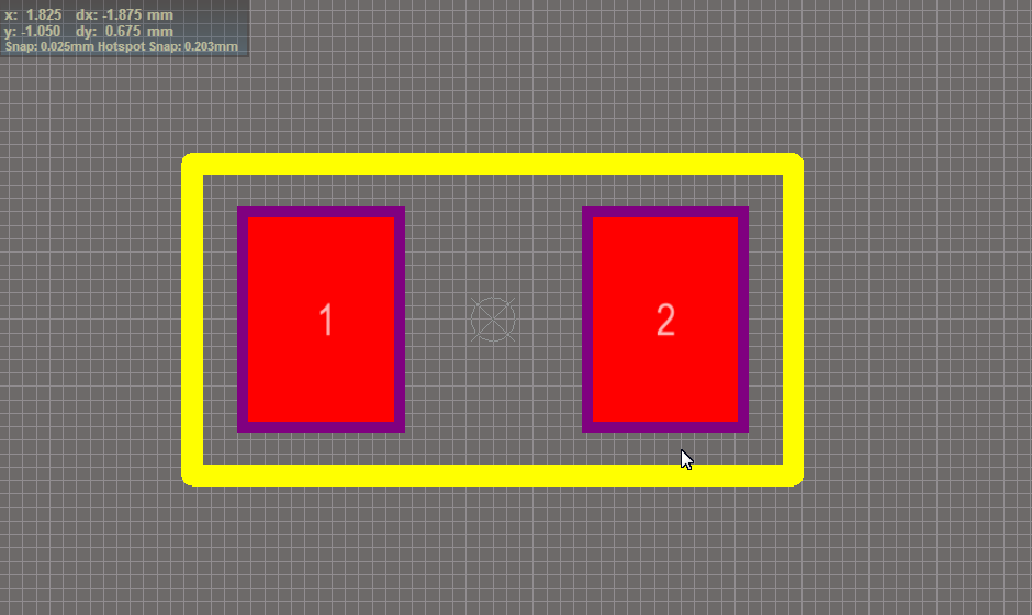 capacitor footprint