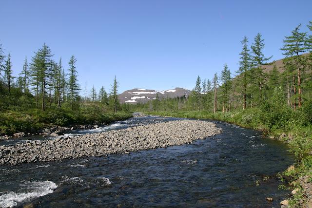 Taimyr-Poxod-Glubokoe-Kyltellar-Bugar-Ekekoy-река Кылтэллар-гора Кылтэллар