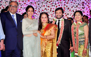All Stars Meet at Marriage Function 'Sri Devi and Jaya Pradha' Hugs