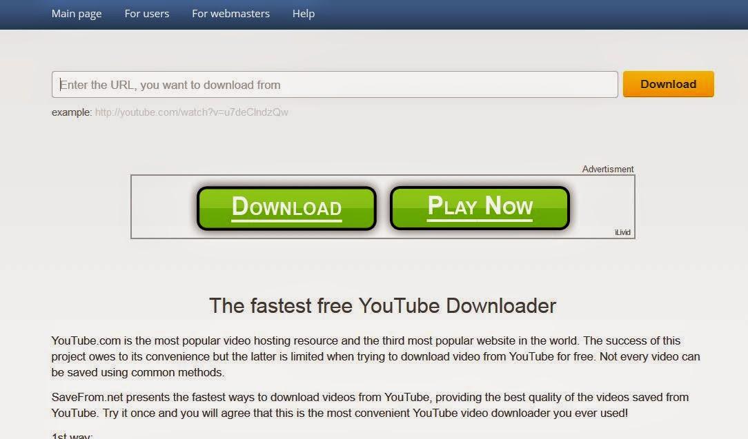 Bagaimana download youtube dengan mudah