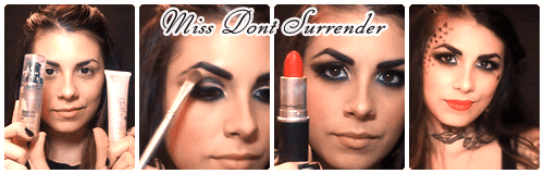 Caracterizacion de Kat Von D por Miss Dont Surrender collage