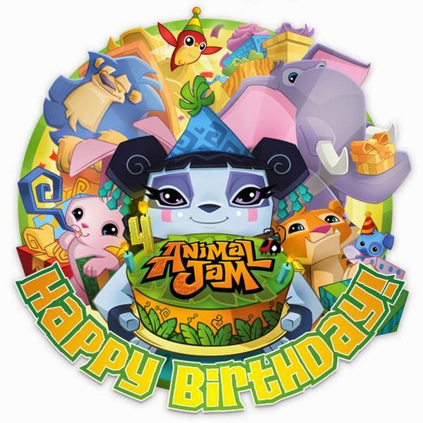 Animal Jam Birthday Cake Code