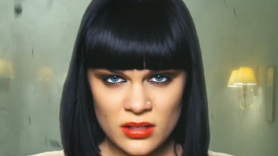 Jessie J, model looks from video Nobody's perfect, 2011.