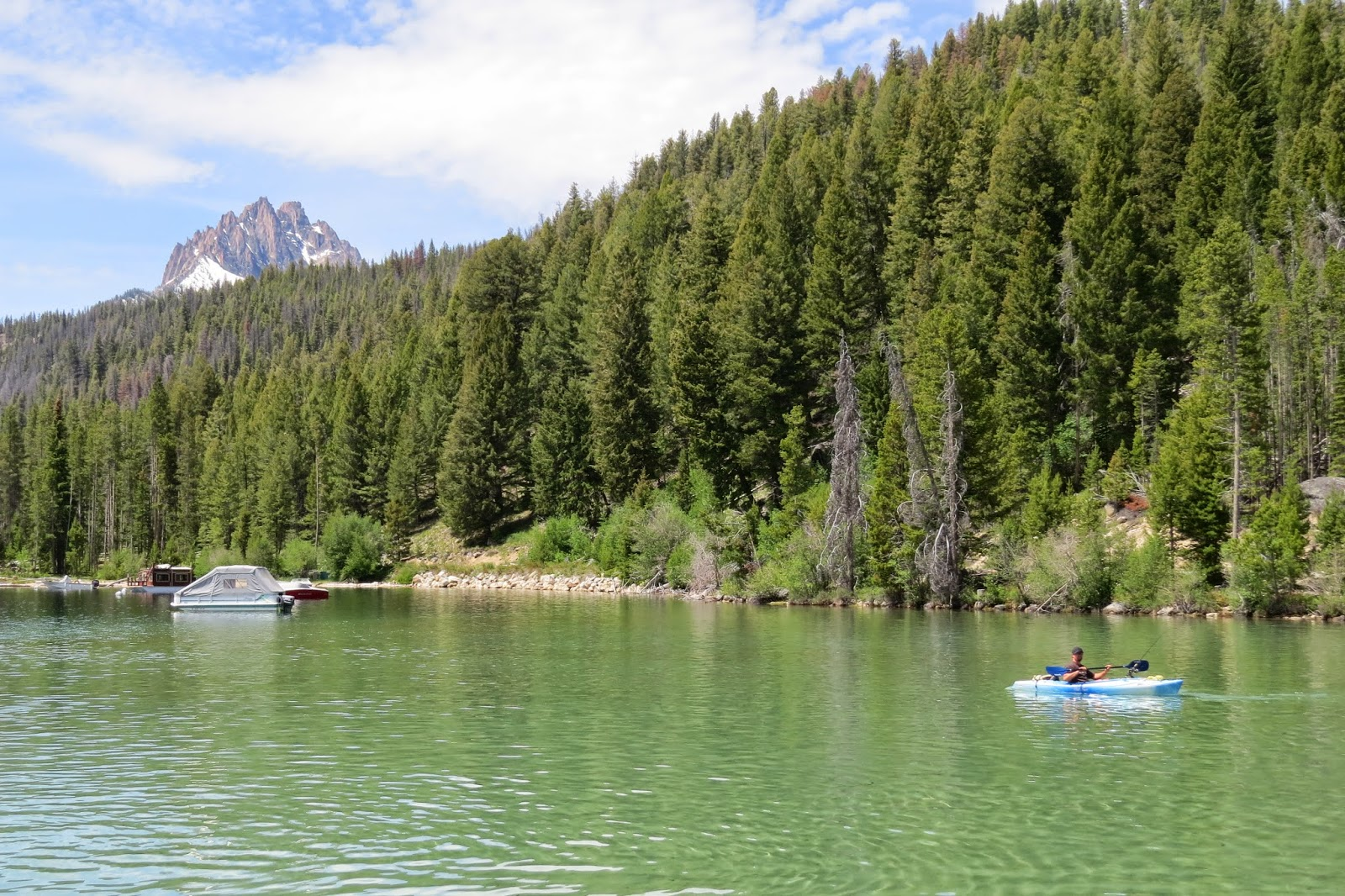 Redfish Lake in Stanley, Idaho