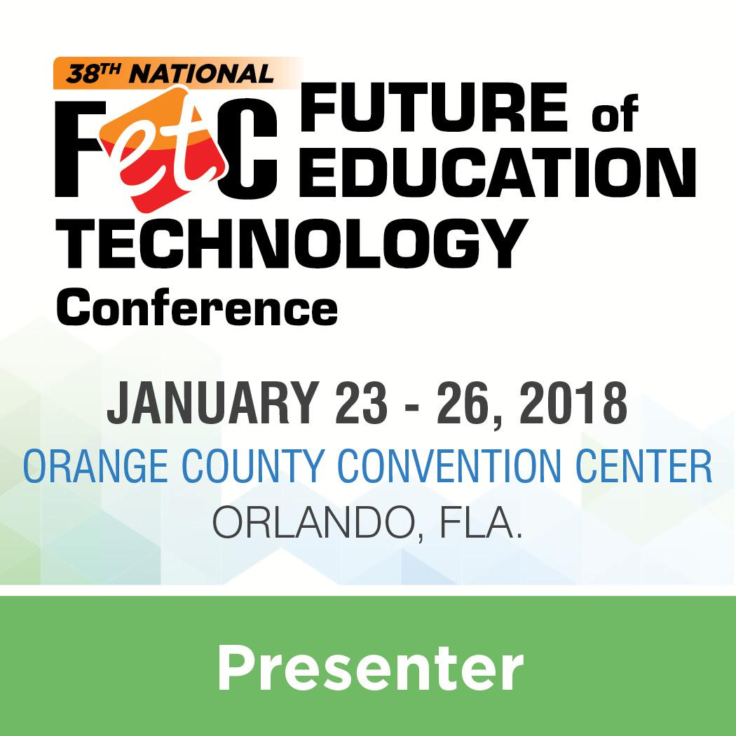 FETC 2018 Presenter