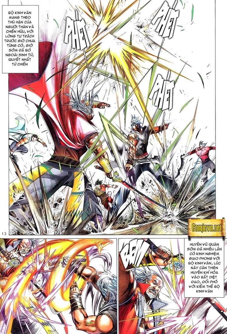 Phong Vân chap 621 Trang 13 - Mangak.info