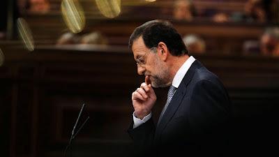 Mariano Rajoy al Congrés de Diputats. Imatge: RTVE