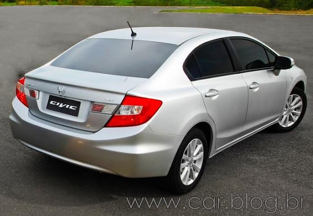 Novo New Civic LXL 2012 Automático - Preço R$ 75.900