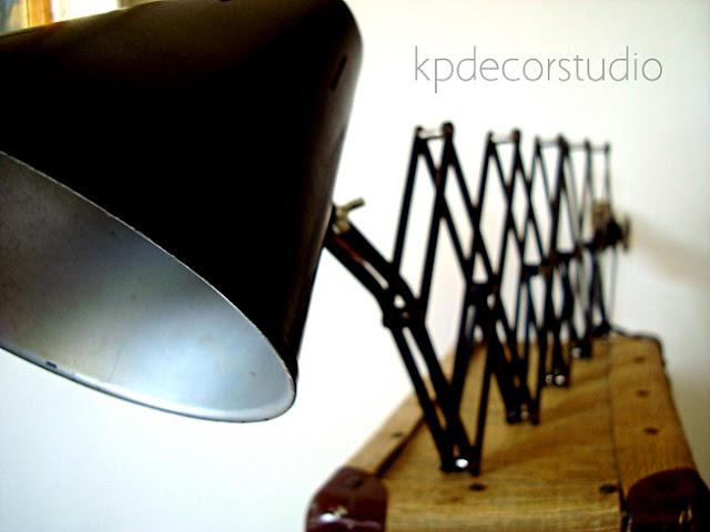 Flexos y lámparas bometal-barcelona-españa. Lámparas vintage para decoración industrial