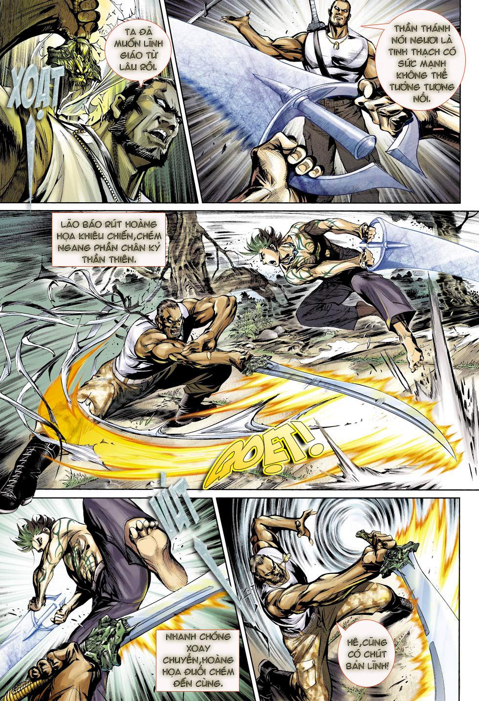 Thần Binh 4 chap 23 - Trang 19
