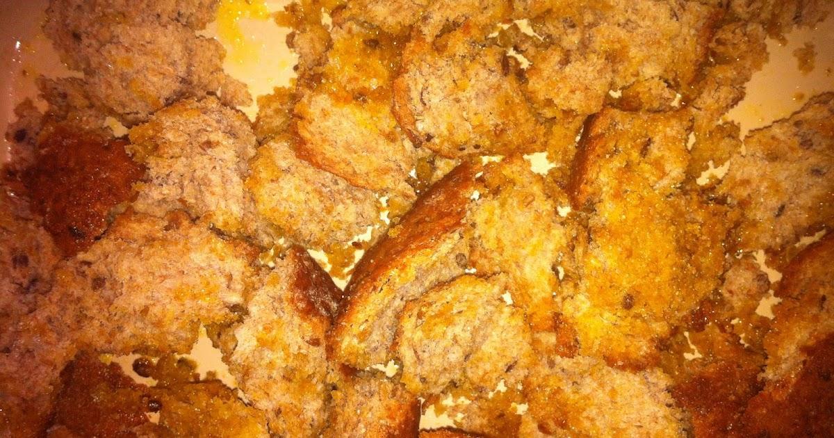 brødcroutoner med hvidløg, alt er bedre end dem man køber...:-)